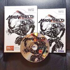 MadWorld Mad World (Nintendo Wii, 2007) Wii Game - PAL