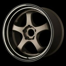 4x D2-EX 5x114.3 SQUARE SET 18x10 +15 for NISSAN FORD