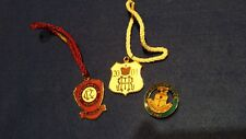 SET 3 HENLEY ROYAL REGATTA & REMENHAM & LEANDER CLUBS  2004 BADGES -ROWING