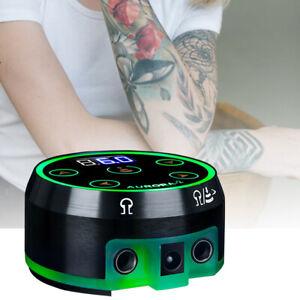 Critical Aurora II LCD Tattoo Power Supply For Coil w/ Rotary Tattoo Machines UK