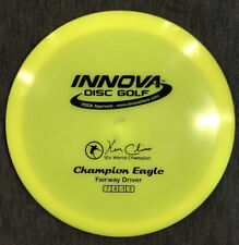 Used - Innova Champion Eagle, Yellow Opaque 170g KC 12x