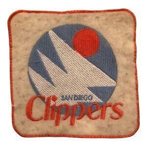 "1978-81 SAN DIEGO CLIPPERS NBA BASKETBALL HARDWOOD CLASSICS 5"" ORANGE BLUE PATCH"