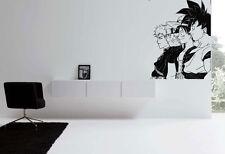 Wall Art Vinyl Room Sticker Decal Mural Anime Guys Movie Heros bo565