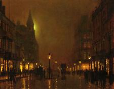 Grimshaw Atkinson John Briggate Leeds Print 11 x 14   #9014