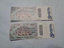 pair 2003 BRUCE SPRINGSTEEN unused concert tickets MILLER PARK MILWAUKEE