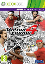 Virtua tennis 4 XBox 360 * en excellent état *