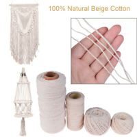 Decor Gift Packing Twine String DIY Rope Sewing Cords 100% Natural Beige Cotton