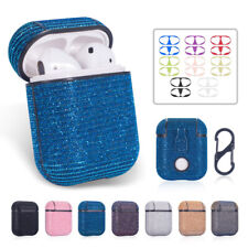 Earphones Pouch Bling Glitter Shockproof For Apple Airpods 1 2 Case Charging Box