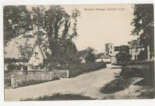 Norton Village Garden City Vintage Postcard 201a