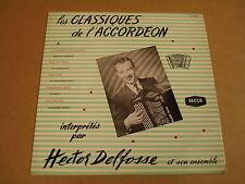 "ACCORDEON 10"" LP / HECTOR DELFOSSE ET SON ENSEMBLE-LES CLASSIQUES DE L'ACCORDEON"