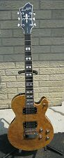 Hagstrom / Select Swede Electric Guitar / Burl Maple Top / Natural Finish / NOS