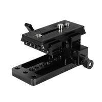 CAMVATE Manfrotto Quick Connect Adapter Baseplate 15mm Rod Clamp fr cameras cage