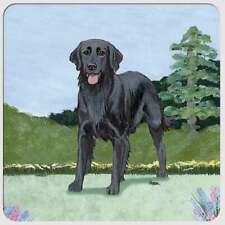Flat Coated Retriever Coasters - Set of 4