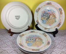 Tienshan  Purrfect Friends Dinner Plates, set of 4