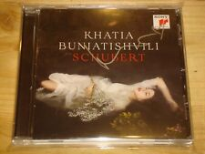 KHATIA BUNIATISHVILI Schubert Piano Sonata D.960 SONY CD NEW Signed NEU Signiert
