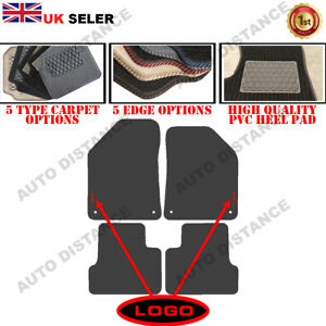 Tailored Carpet Car Mats With Heel Pad FOR Chrysler Cherokee WITH LOGO 2014-2020