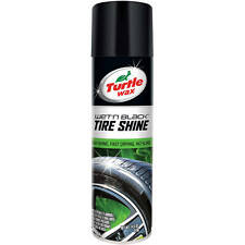 Turtle Wax PERFORMANCE PLUS WET'N BLACK TIRE SHINE ULTRA WET Deep Black AEROSOL
