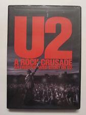 U2: A Rock Crusade (DVD, 2009) bono edge larry adam