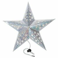 1X(Pentagram Five Star Paper Lantern Hanging Ornaments Christmas Wedding Xm H5U2