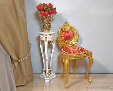 1:4 gold doll chair, baroque, BJD doll furniture, vintage furniture