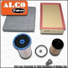 SERVICE KIT AUDI A3 (8V) 1.6 2.0 TDI ALCO OIL AIR FUEL CABIN FILTERS (2012-2019)