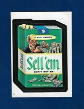 1982 Topps Wacky Packages #17 Sell 'em Don't Buy 'em (NM) Album Sticker