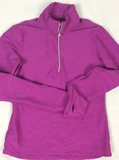 LUCY Running Jacket Small1/2 Zip Pullover Athletic Textured Workout Thumbholes