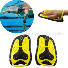 Swimming Aids Stroke Efficiency Training Glove Silicone Hand Fins Webbed Paddles