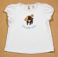 GYMBOREE SIZE 5T TOP GIRLS BEST FRIEND PUPPY DOG GONE CUTE DACHSHUND  SHIRT