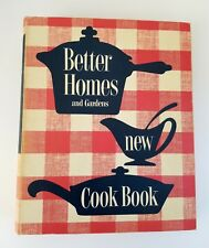 Vintage Better Homes & Gardens New Cook Book 5 Ring Binder 1953