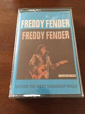 FREDDY FENDER BEFORE THE NEXT TEARDROP FALLS K7 CASSETTE BANDE RUBAN ADHÉSIF