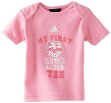 Adidas MLS New York Red Bulls Soccer My New First Pink T-Shirt 18 months 18M
