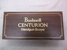 Bushnell Centurion Handgun Scope 74-2800, Empty Box, with lens case and papers