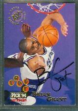Brian Grant Basketball Auto 1994-95 Topps '94 Signature Autograph Card #225