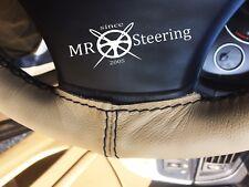 Pour Jaguar Daimler Marque 2 Beige Housse Volant Cuir Noir Double Point