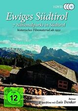 Luis Trenker/Fritz Aly/+ - eterno el Tirol del Sur 3 DVD nuevo