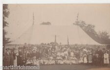 Worcester Social History, Gathering Real Photo Postcard, B504