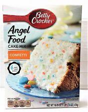 Betty Crocker Confetti Angel Food Cake Mix 16.75 oz