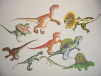 Jurassic Park Figuren Sammlung  World Kenner Dinosaurier aussuchen choose