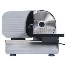 """7.5"""" Blade Electric Meat Slicer Cheese Deli Meat Food Cutter Kitchen Home US"""