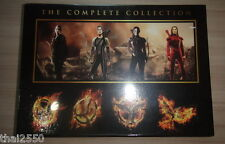 THE HUNGER GAMES Complete Collection Catching Fire Mockingjay Boxset 4 Disc DVD