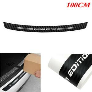 1M Car Rear Bumper Guard Sill Plate Trunk Cover Anti Scratch Vinyl Trim Sticker