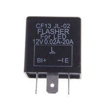 CF13 JL-02 3-Pin Car Flasher Relay Fix LED Light Turn Signal Hyper Flash F&F