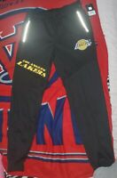 NBA Los Angeles Lakers Joggers Track Pants MEN'S Black Size L