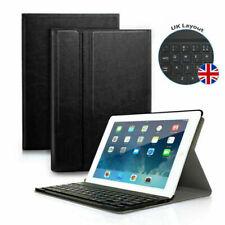 UK For iPad Mini 1 2 3 Slim Smart PU Leather Case Bluetooth Keyboard Stand Cover