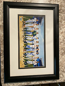 500 Home Run Club Framed Autographed Picture