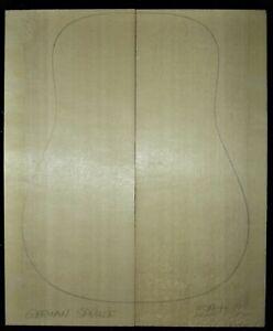Guitar Luthier Tonewood HIGH GRADE (5A) GERMAN SPRUCE TOP SOUNDBOARD Set