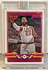 Lebron James 2018 Panini The National VIP Black Box Authentic Diamond RC #'d 5/5