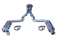 JDM 3 INCH STAINLESS STEEL CATBACK EXHAUST for FORD MUSTANG GT V8 5.0L 2015-ON