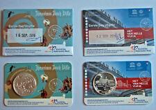 Spezial 2 x 5 EURO COINCARD Niederlande Bosch + van Nelle - Dag van de Munt